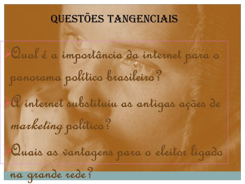 Qual é a importância da internet para o panorama político brasileiro