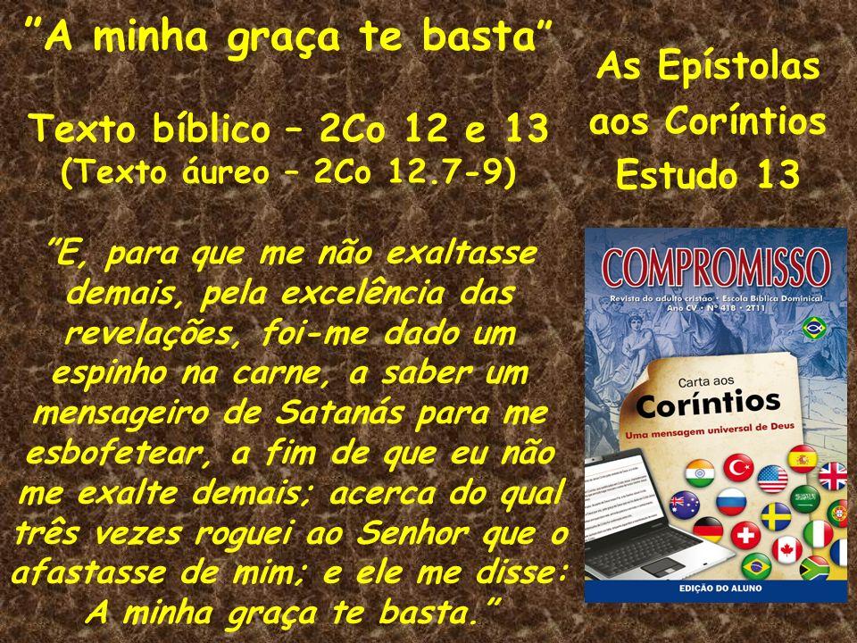 As Epístolas aos Coríntios Estudo 13