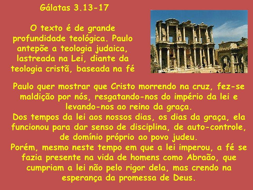 Gálatas 3.13-17