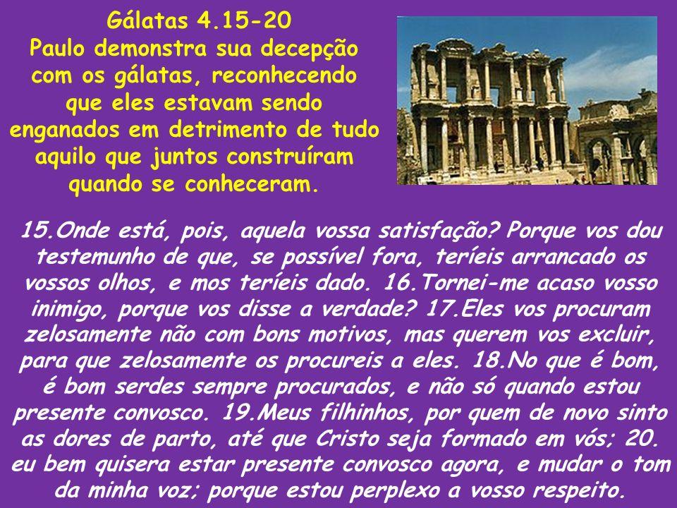Gálatas 4.15-20