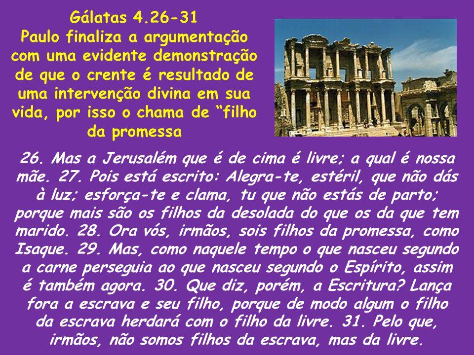 Gálatas 4.26-31