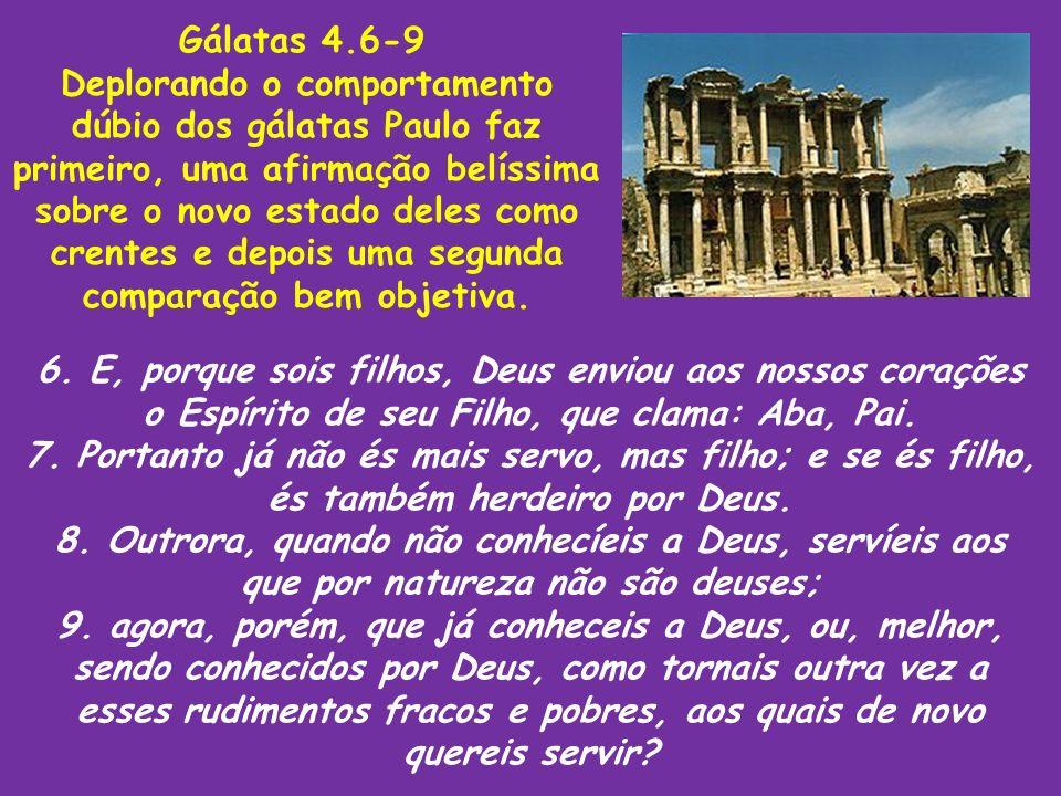 Gálatas 4.6-9