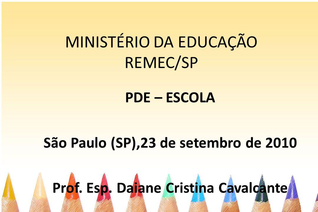 MINISTÉRIO DA EDUCAÇÃO REMEC/SP