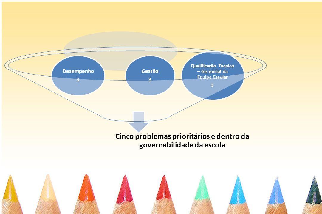 Qualificação Técnico – Gerencial da Equipe Escolar 3 Gestão Desempenho