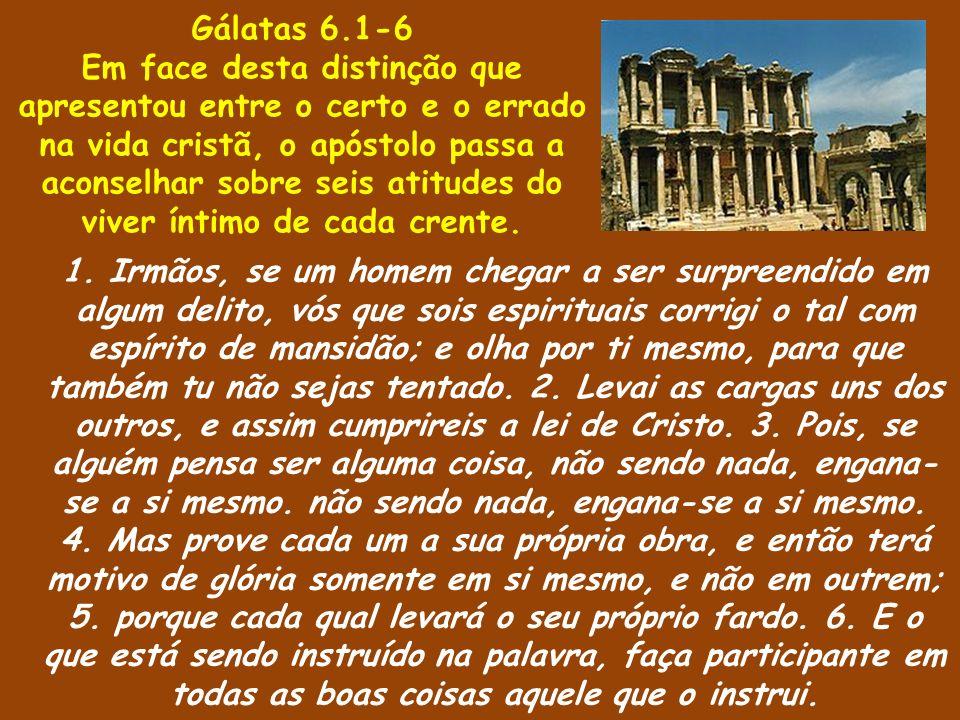 Gálatas 6.1-6