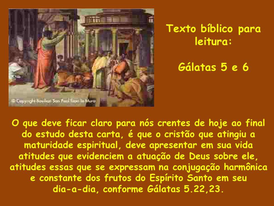 Texto bíblico para leitura: