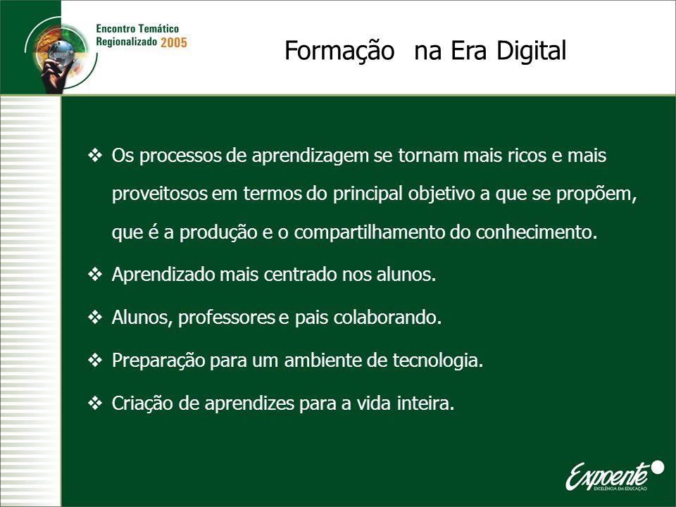 Formação na Era Digital