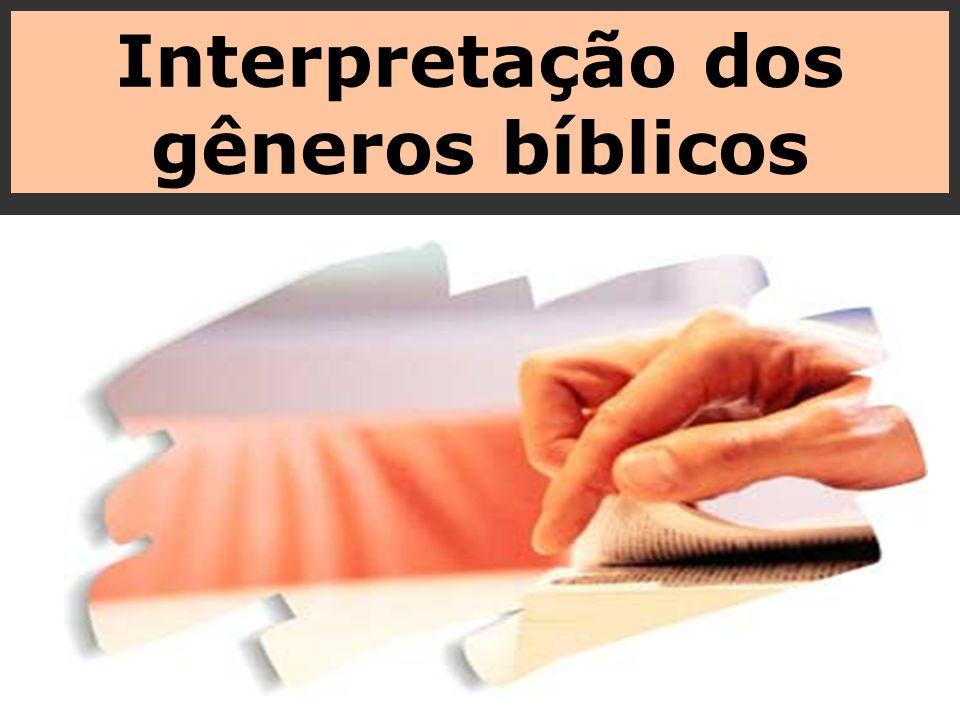 Interpretação dos gêneros bíblicos