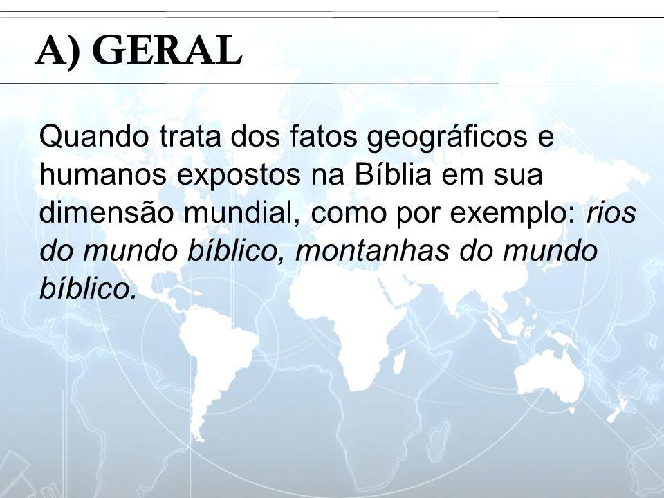 IntroduçãoA) GERAL.