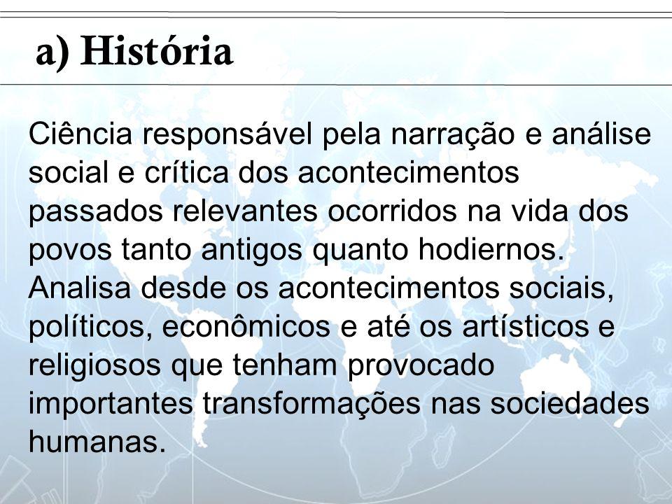 Introduçãoa) História.