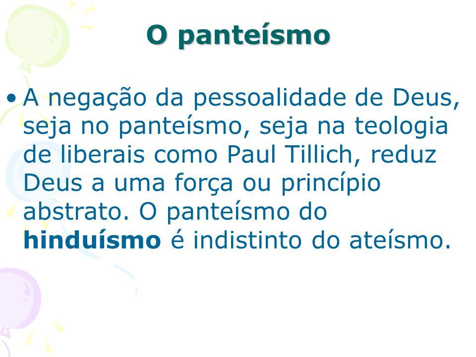 O panteísmo
