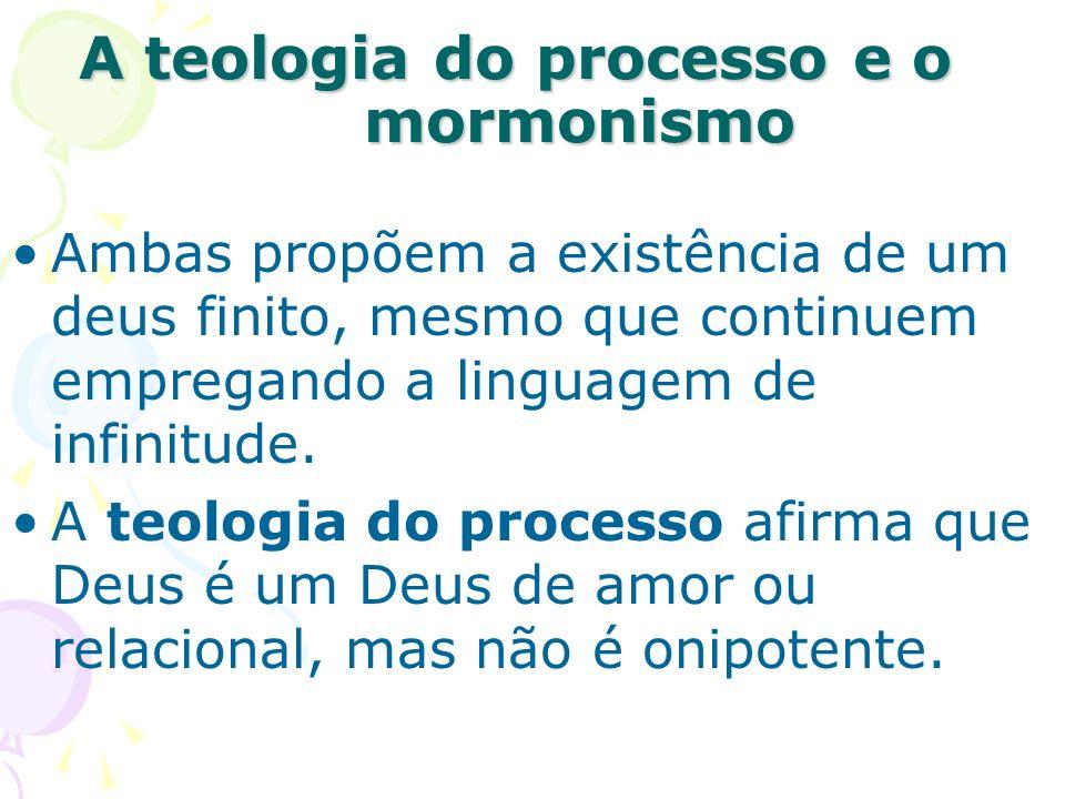 A teologia do processo e o mormonismo