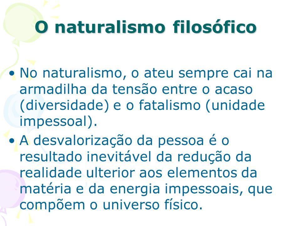 O naturalismo filosófico