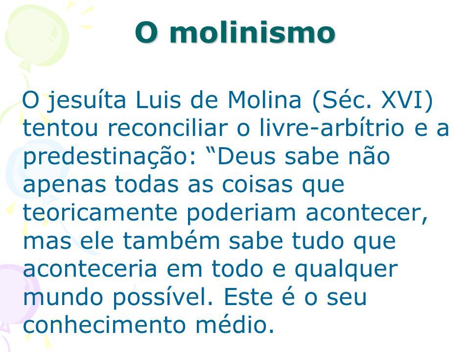 O molinismo