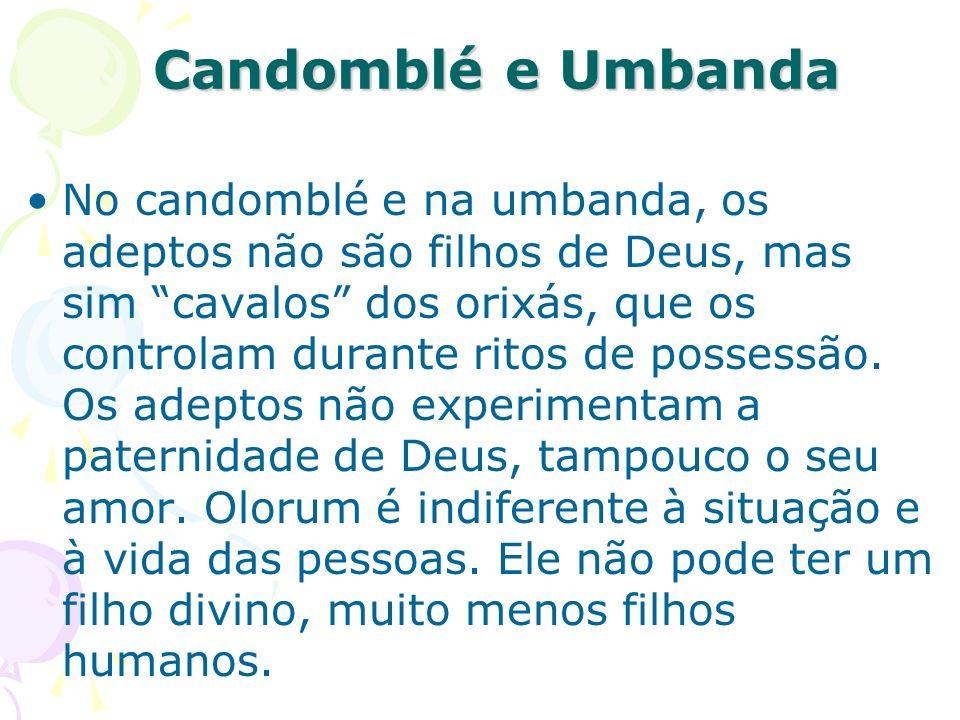 Candomblé e Umbanda