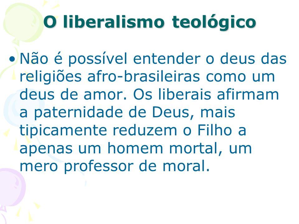 O liberalismo teológico