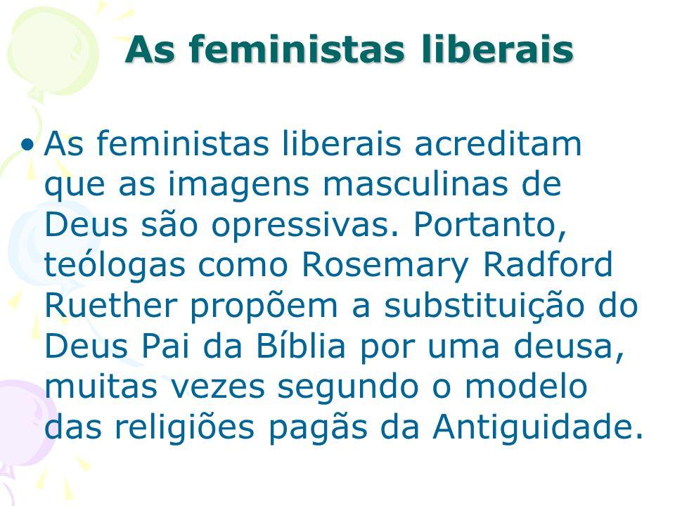 As feministas liberais