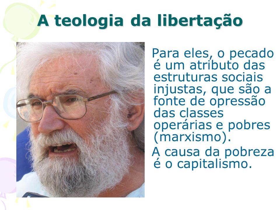A teologia da libertação