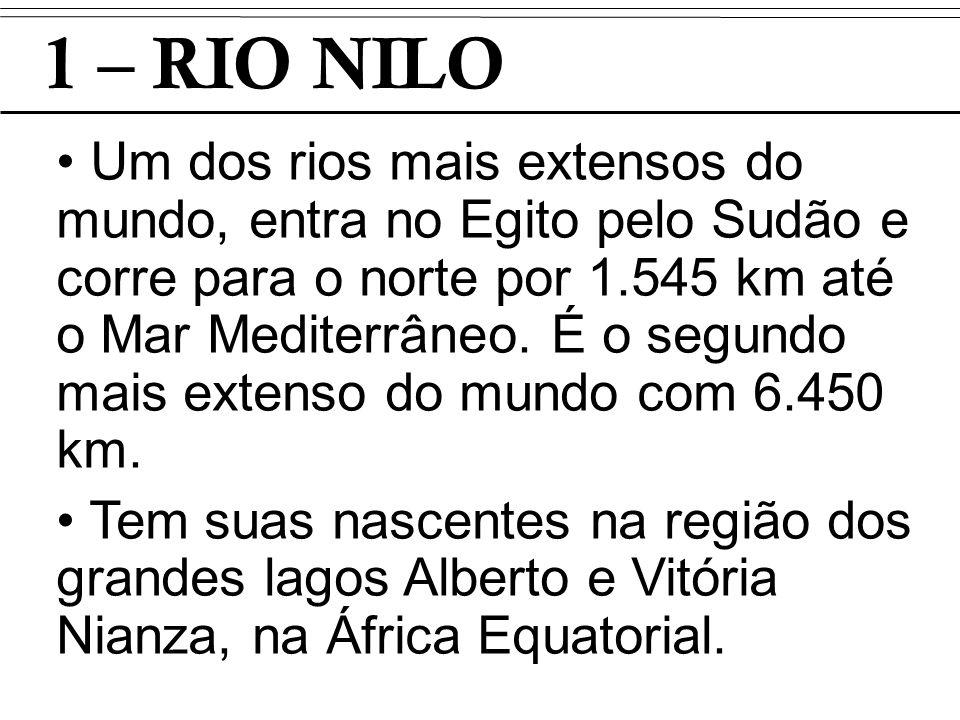 1 – RIO NILO