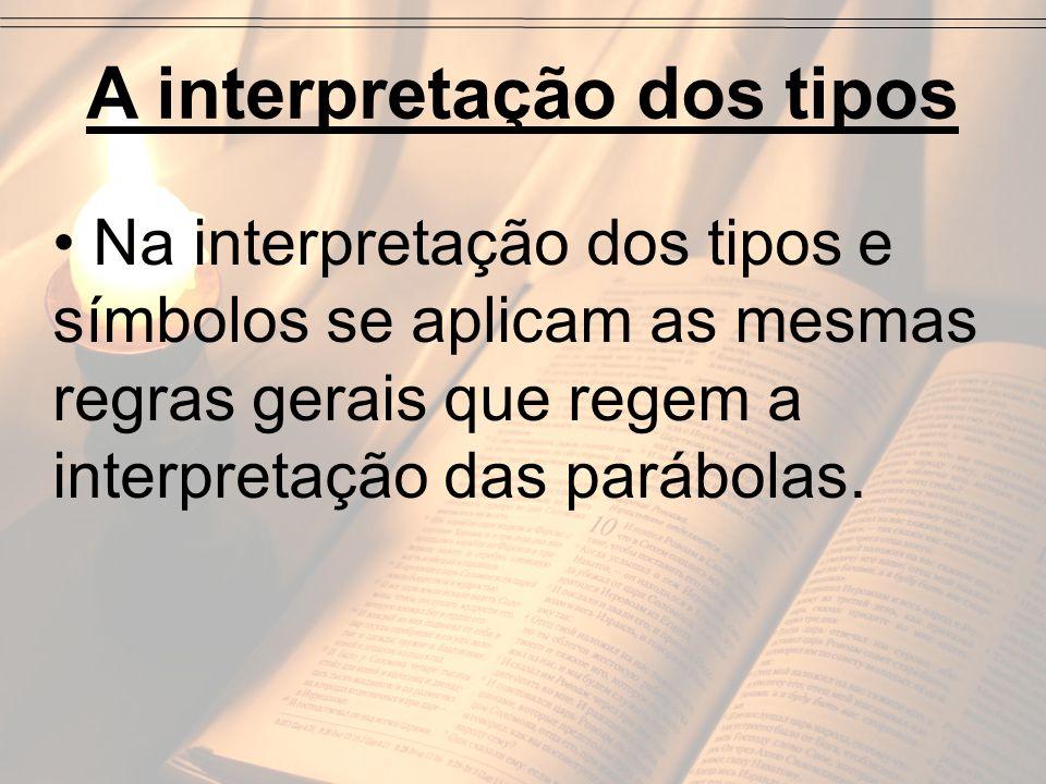 A interpretação dos tipos
