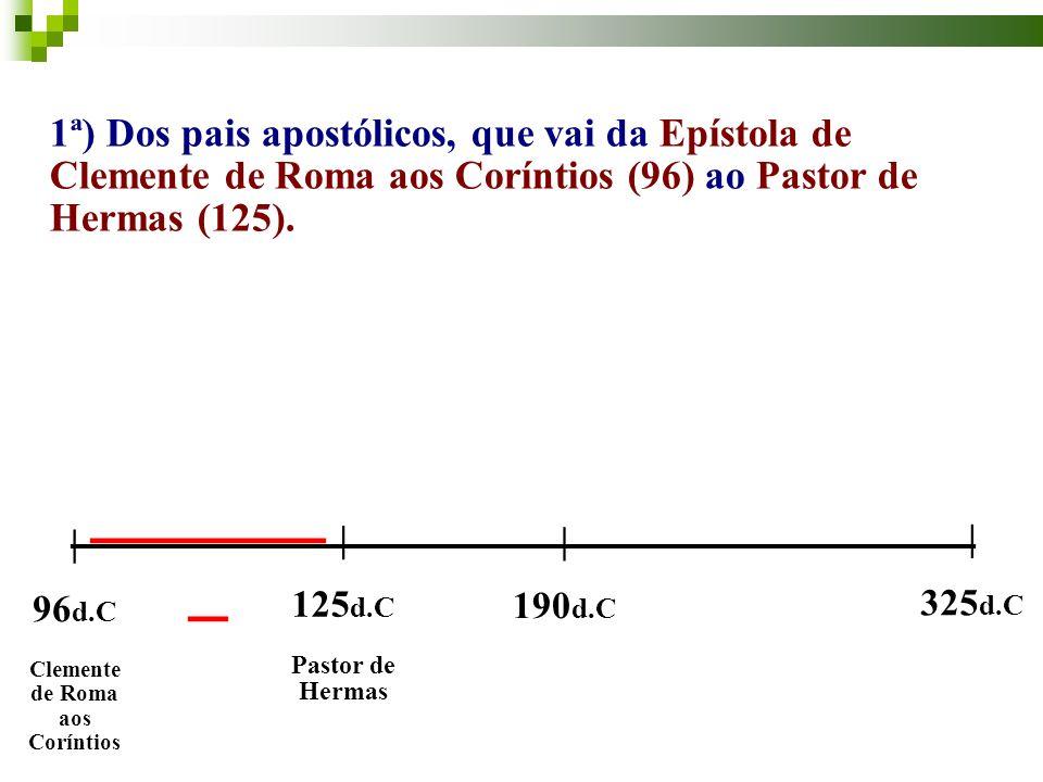 __________________________ Clemente de Roma aos Coríntios