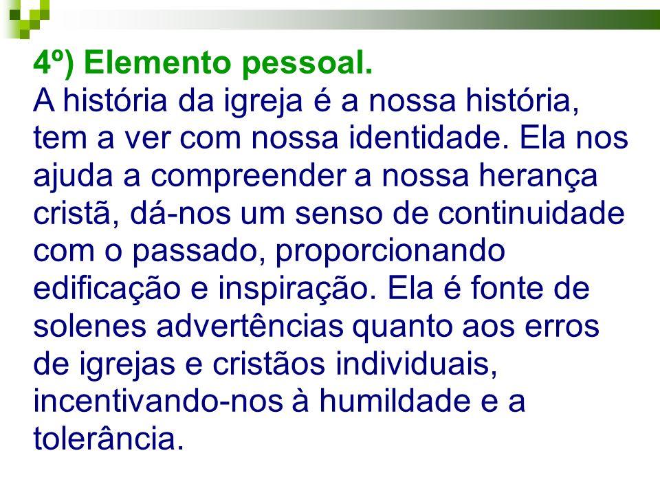 4º) Elemento pessoal.
