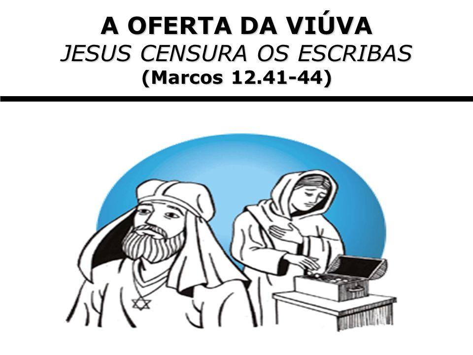 JESUS CENSURA OS ESCRIBAS
