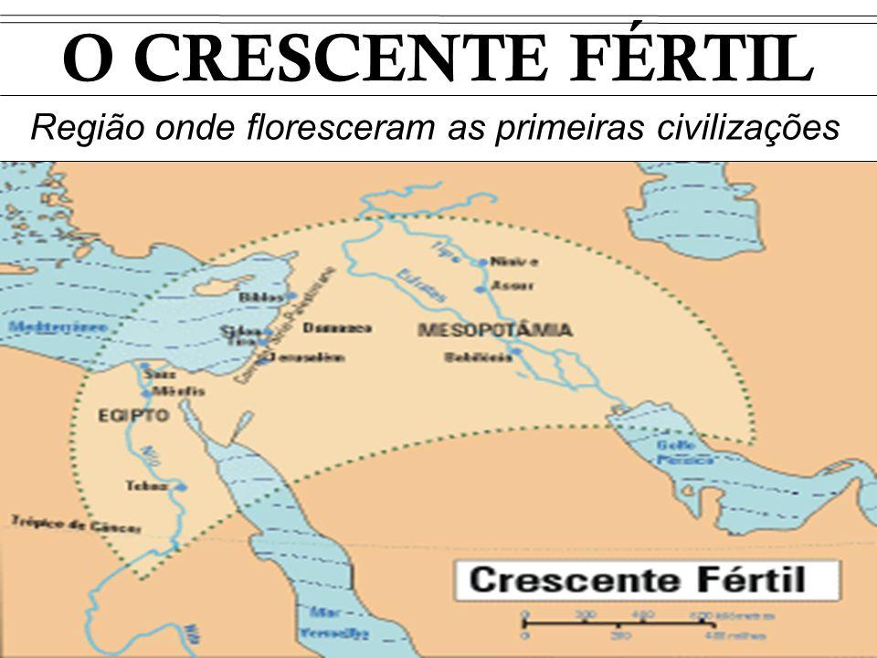 Região onde floresceram as primeiras civilizações