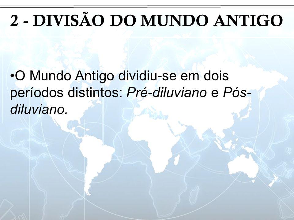 2 - DIVISÃO DO MUNDO ANTIGO