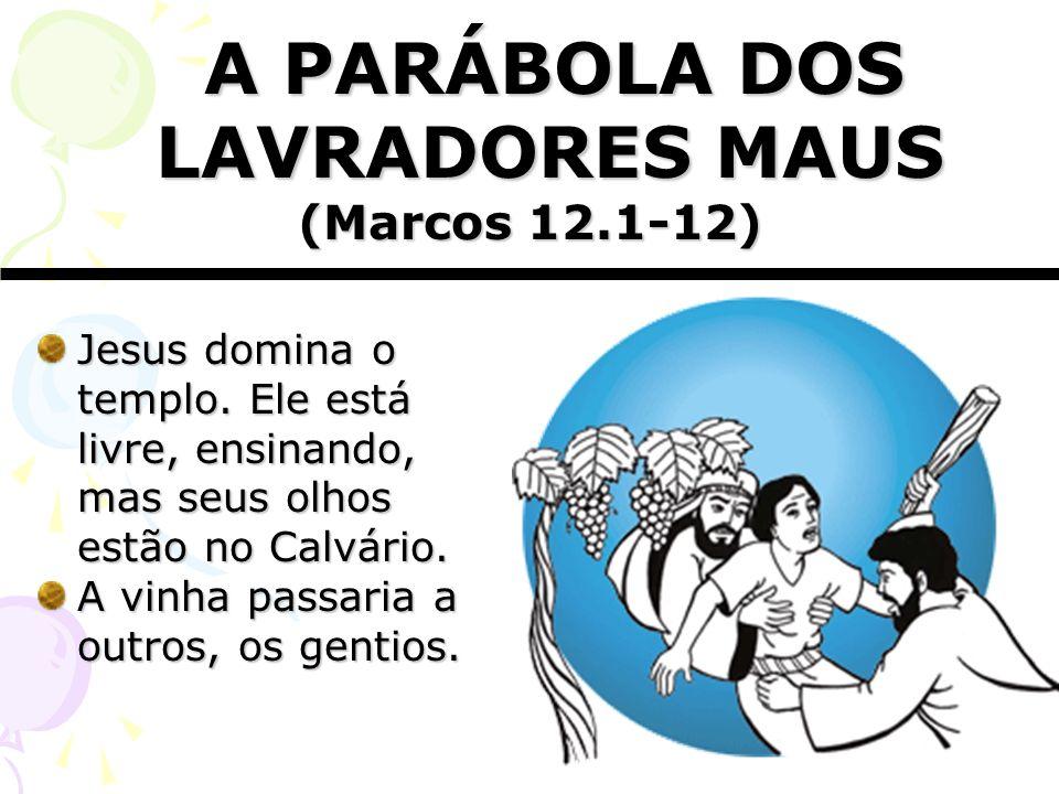 A PARÁBOLA DOS LAVRADORES MAUS