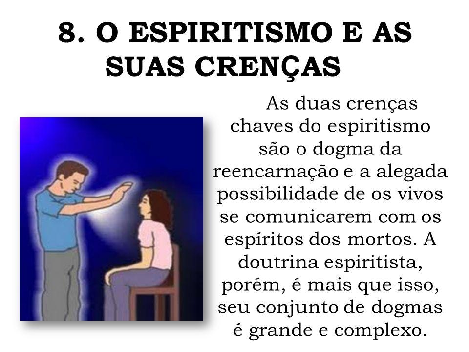 8. O ESPIRITISMO E AS SUAS CRENÇAS