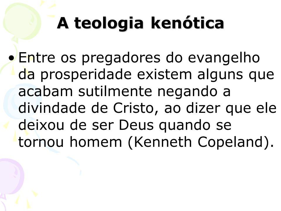 A teologia kenótica