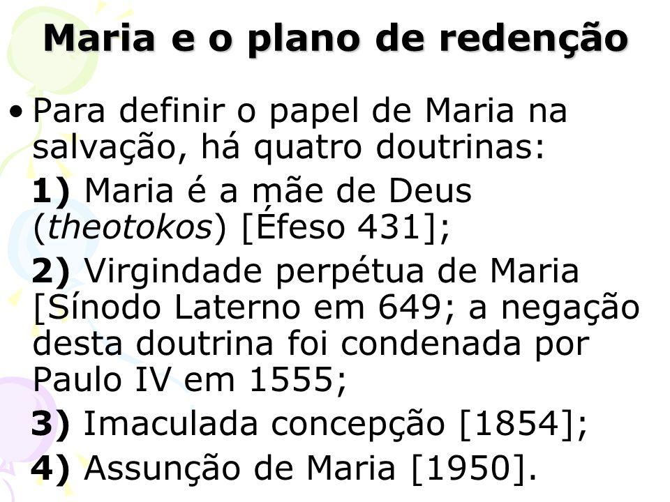 Maria e o plano de redenção