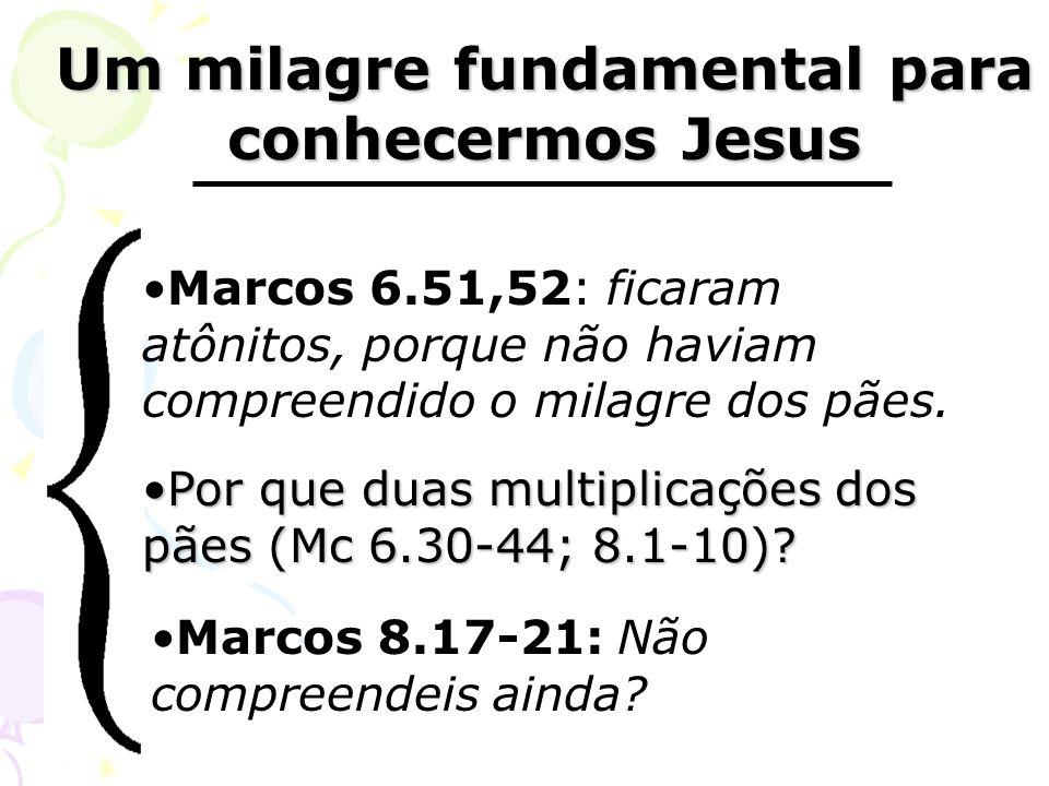 Um milagre fundamental para conhecermos Jesus