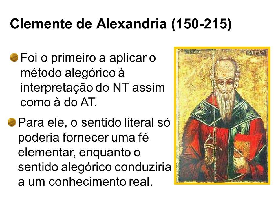 Clemente de Alexandria (150-215)