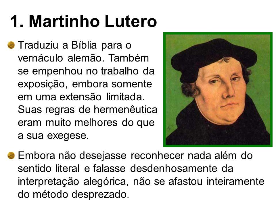 1. Martinho Lutero