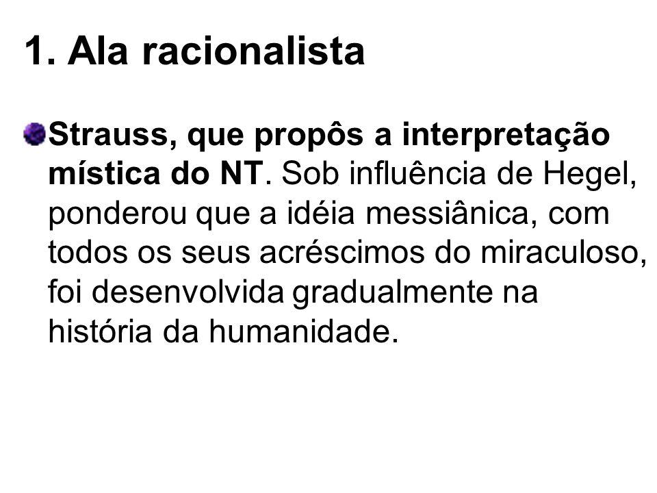 1. Ala racionalista