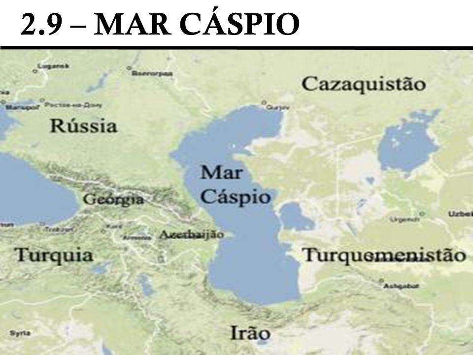 2.9 – MAR CÁSPIO