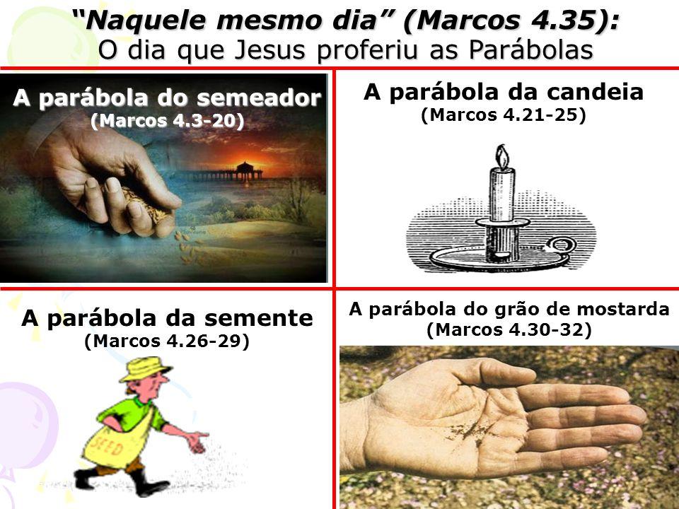 A parábola do grão de mostarda (Marcos 4.30-32)