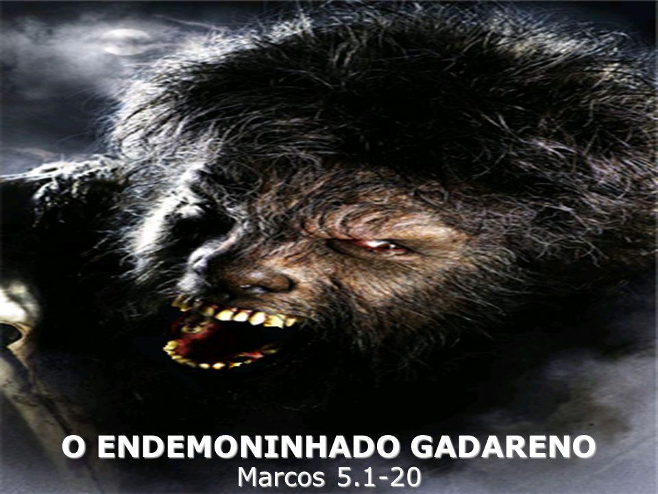 O ENDEMONINHADO GADARENO Marcos 5.1-20