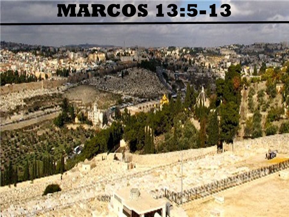 MARCOS 13:5-13