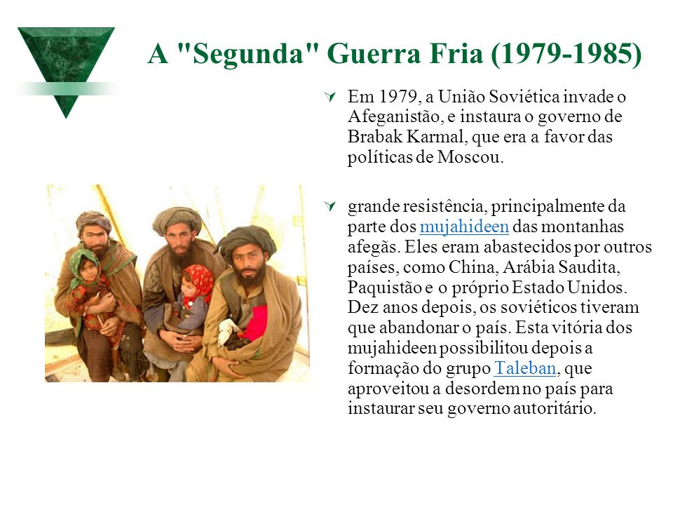 A Segunda Guerra Fria (1979-1985)