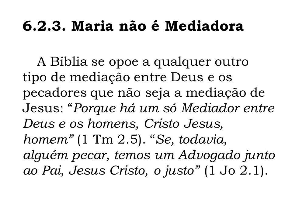 6.2.3. Maria não é Mediadora