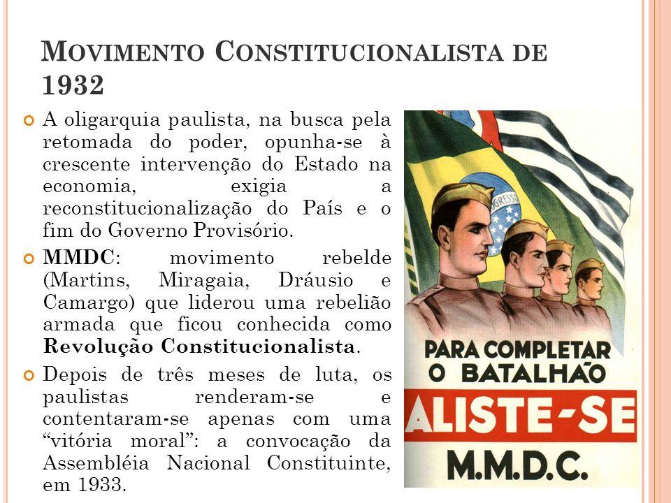 Movimento Constitucionalista de 1932