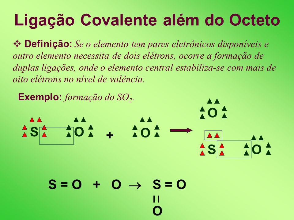 Ligação Covalente além do Octeto