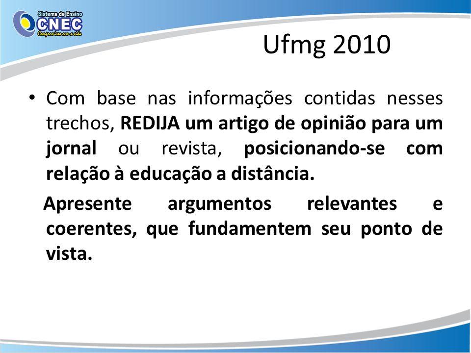 Ufmg 2010