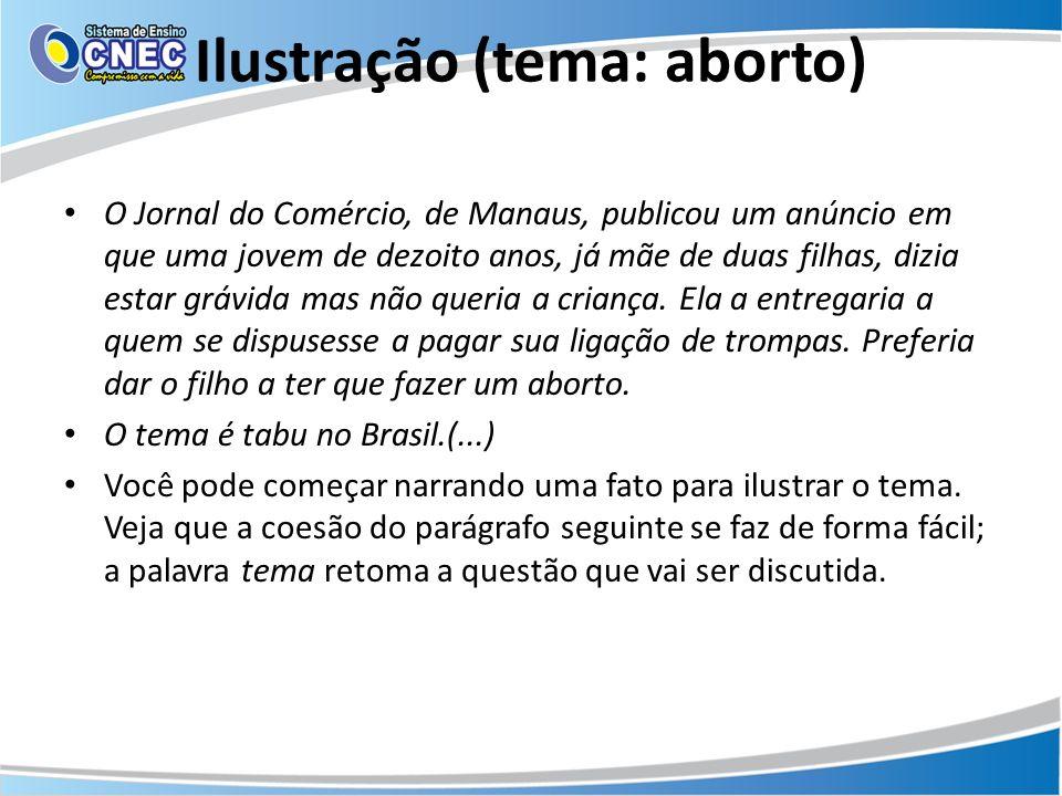 Ilustração (tema: aborto)