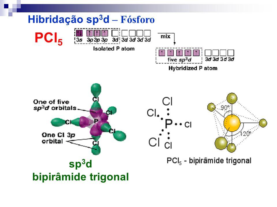 Hibridação sp3d – Fósforo