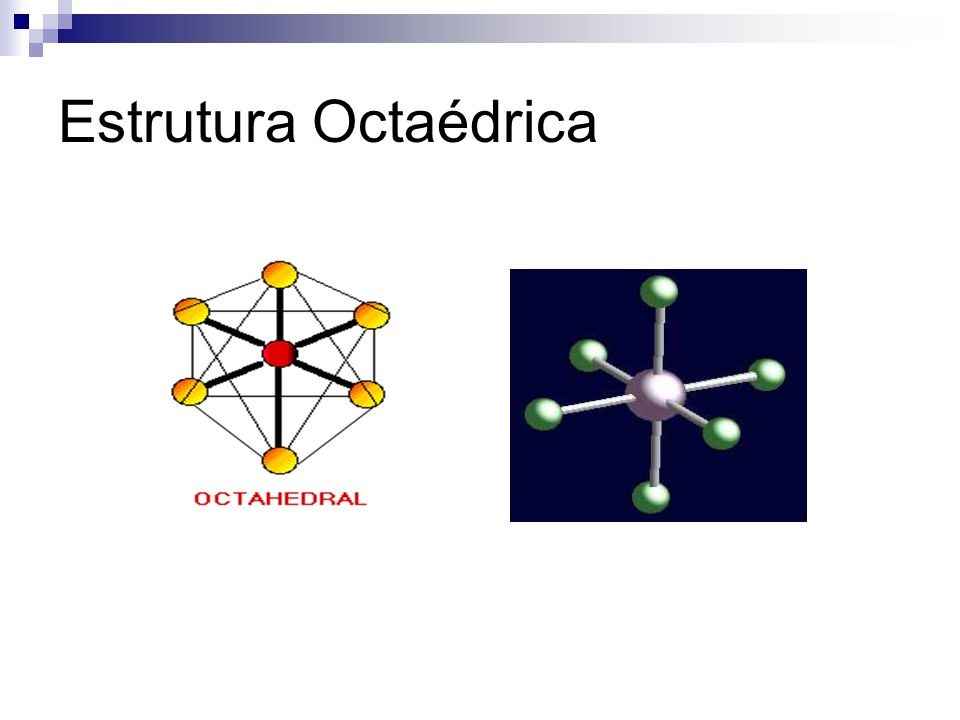 Estrutura Octaédrica