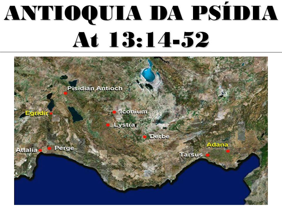 ANTIOQUIA DA PSÍDIA At 13:14-52